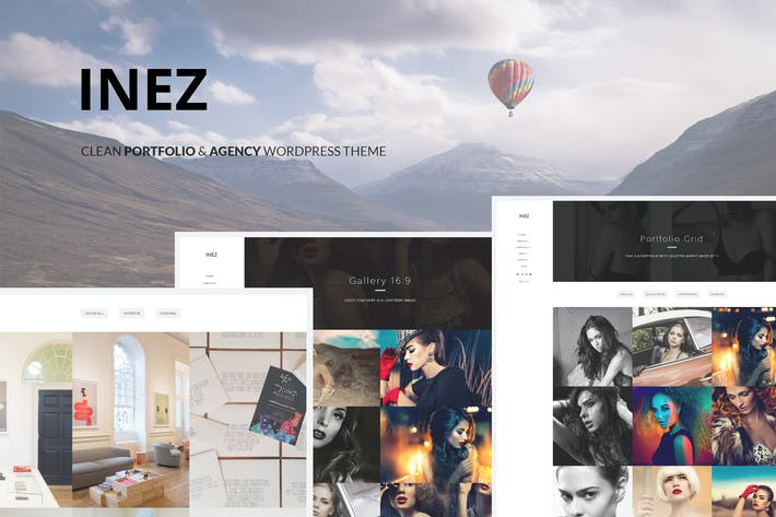 Thumbnail for Inez - Clean Portfolio & Agency Theme