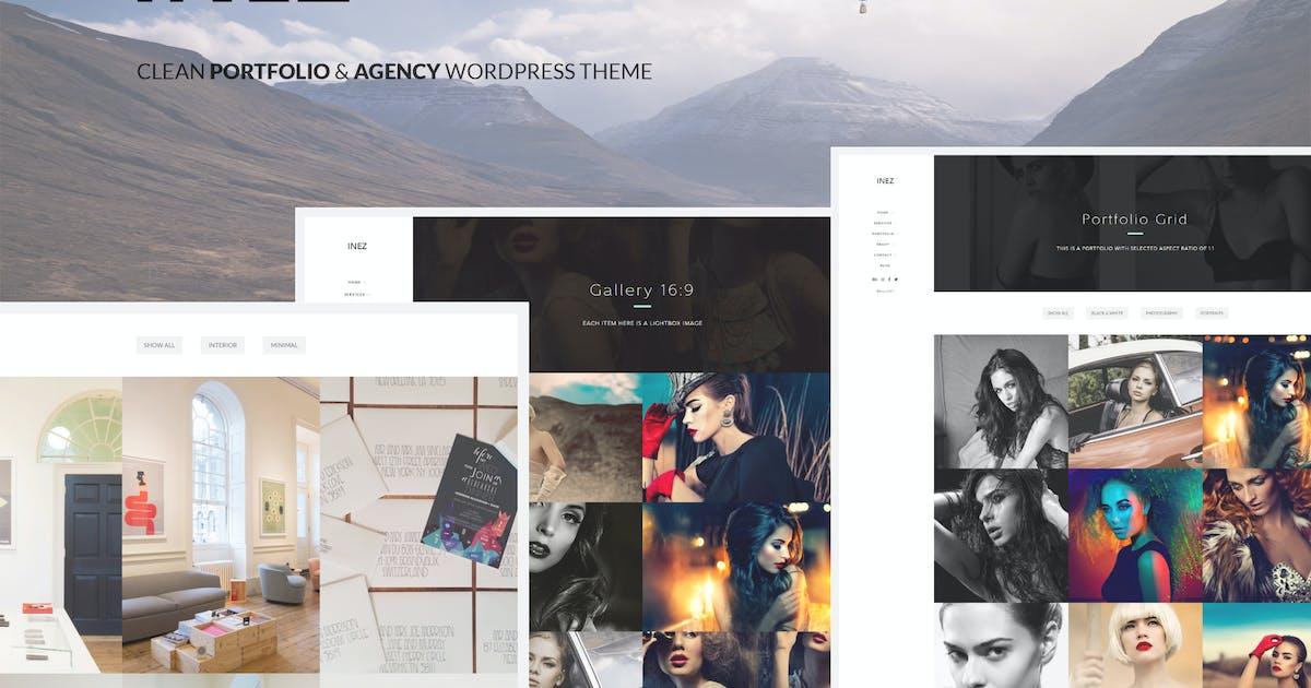 Download Inez - Clean Portfolio & Agency Theme by subsolar