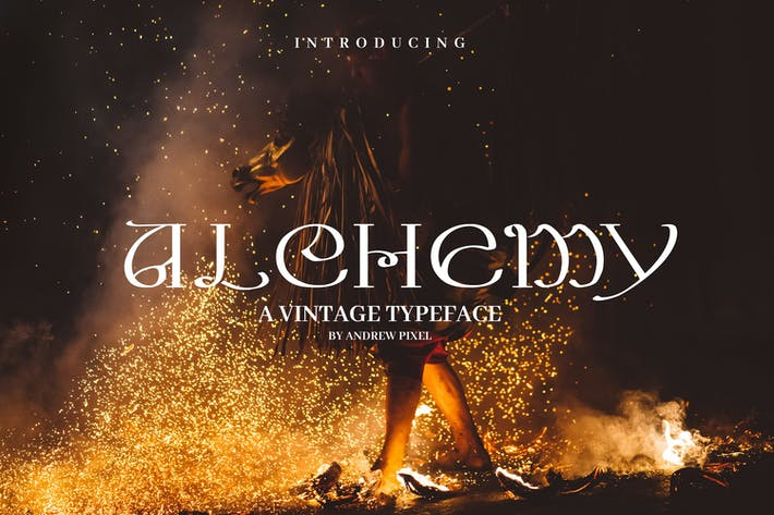 Thumbnail for Alchemy - A Magical Typeface