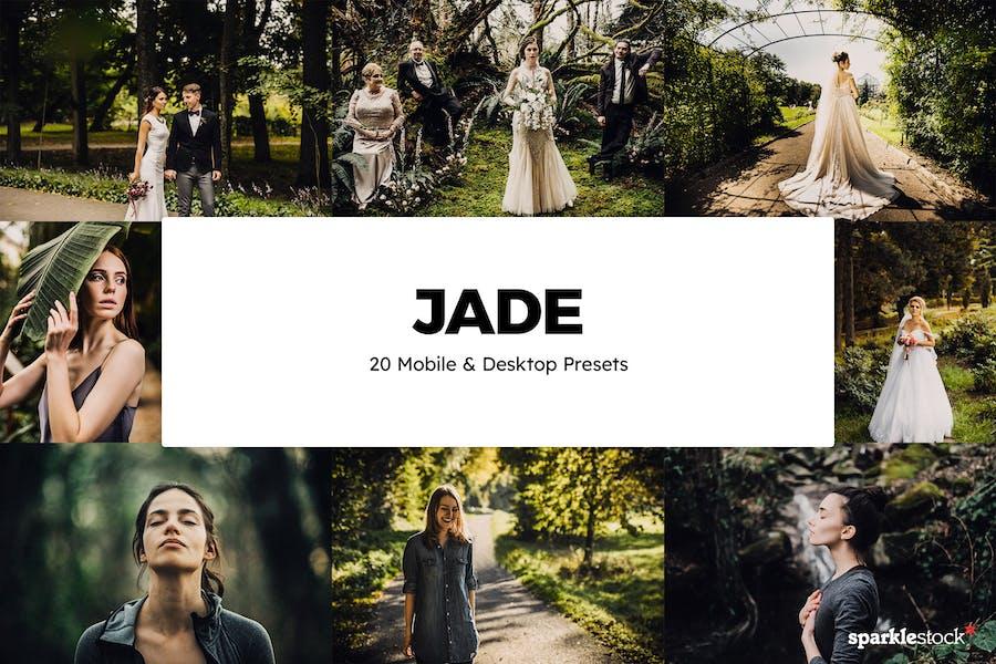 20 Jade Lightroom Presets & LUTs