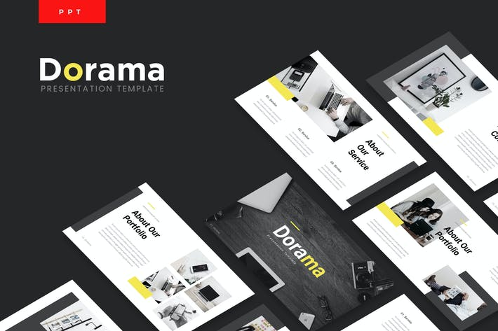 Thumbnail for Dorama - Corporate Powerpoint Template