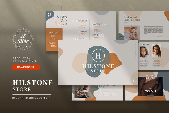 Cover Image For Fashion - PowerPoint Presentation Template