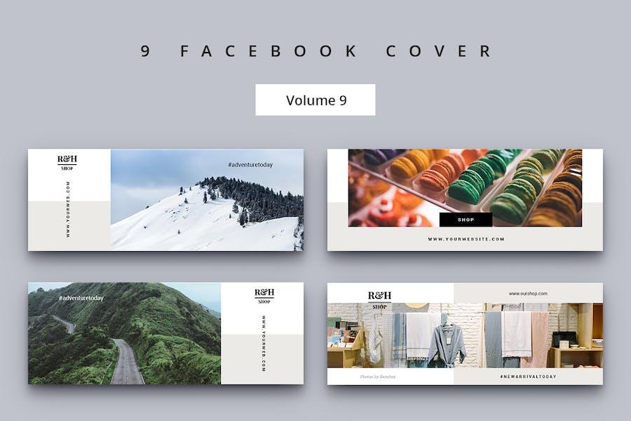 Facebook Cover Vol. 9
