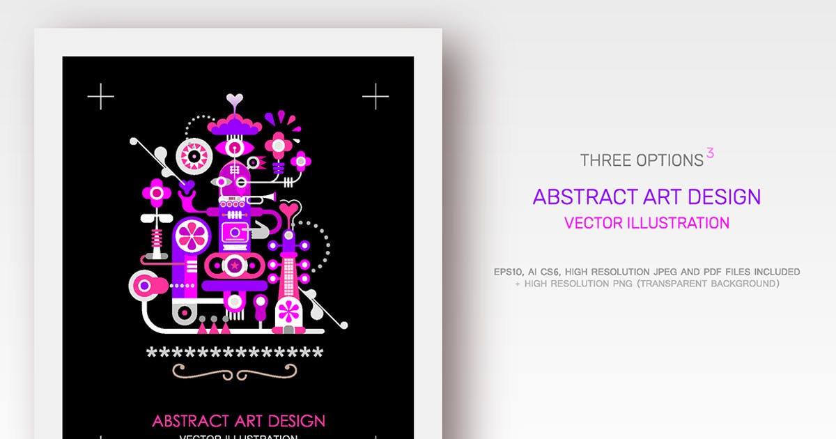 Download Abstract Art Designs (3 options) by danjazzia