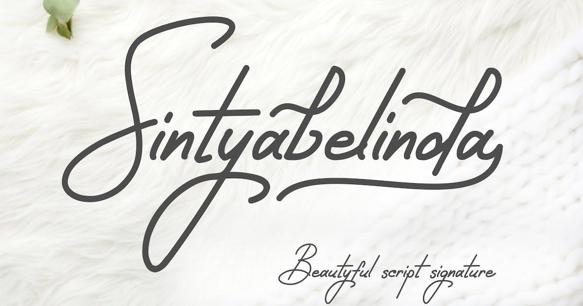 Download Sintyabelinda Font by elevencreativee