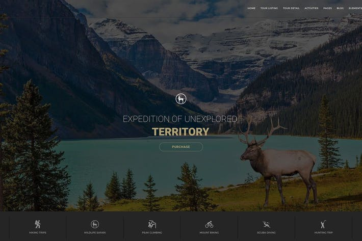 Tour & Adventure Travel HTML Template - Entrada
