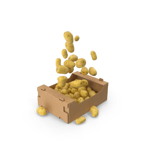 Thumbnail for Box With Flying Potatoes