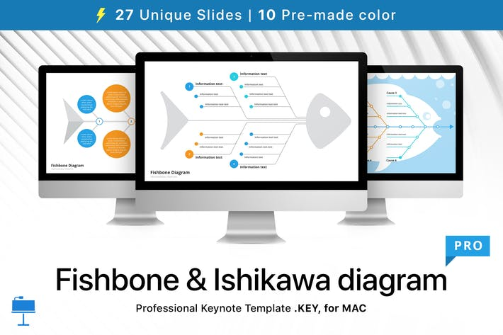 Thumbnail for Fishbone & Ishikawa diagram for Keynote