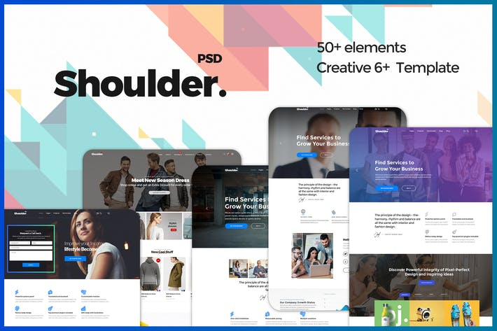 Thumbnail for Shoulder - Multi-Purpose Consulting - Business