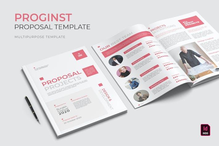 Thumbnail for Proginst | Modèle de proposition