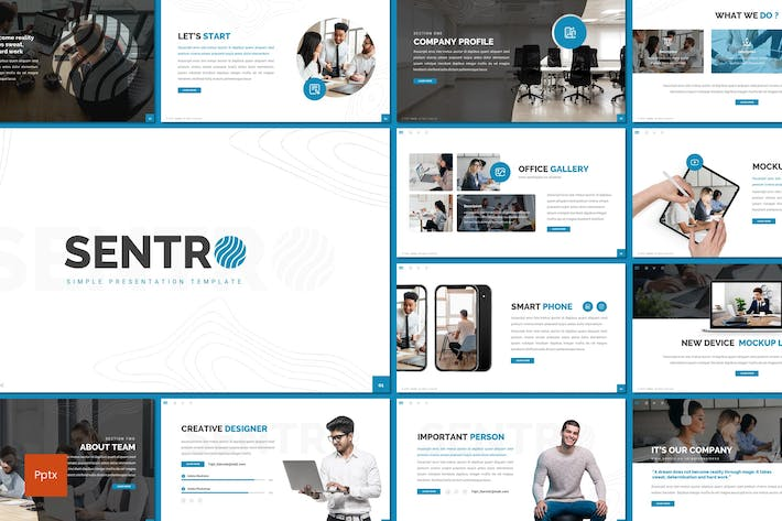 Thumbnail for Sentro - Business Powerpoint Template