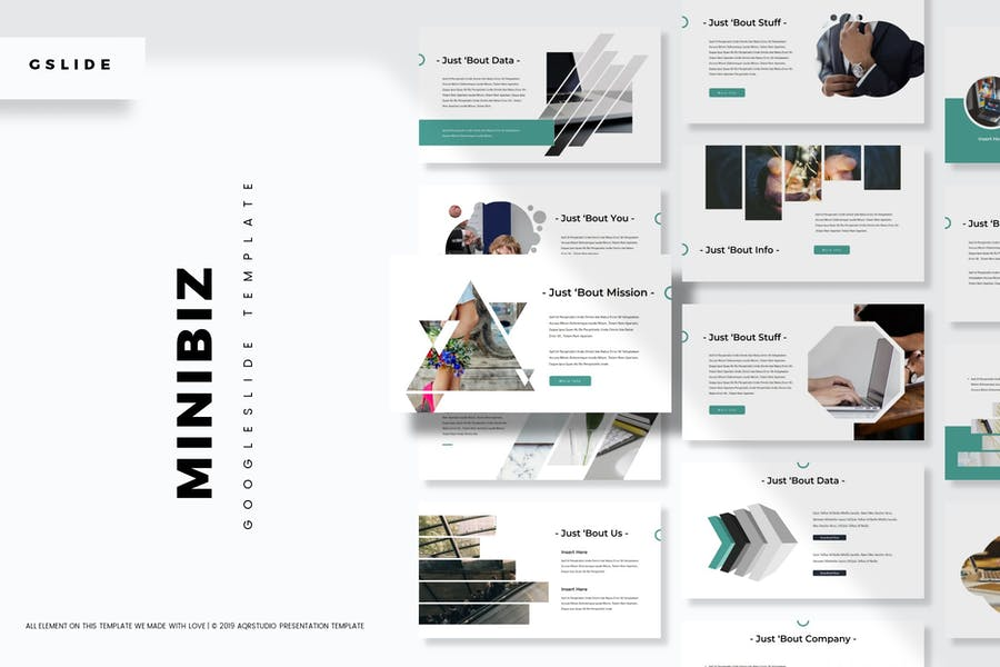 Minibiz - Google Slides Template