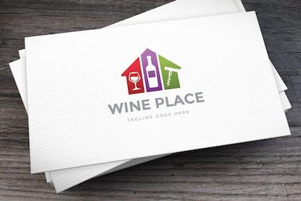 Wine Place Logovorlage