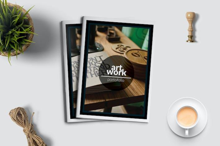 Thumbnail for Creative Agency Portfolio Dark