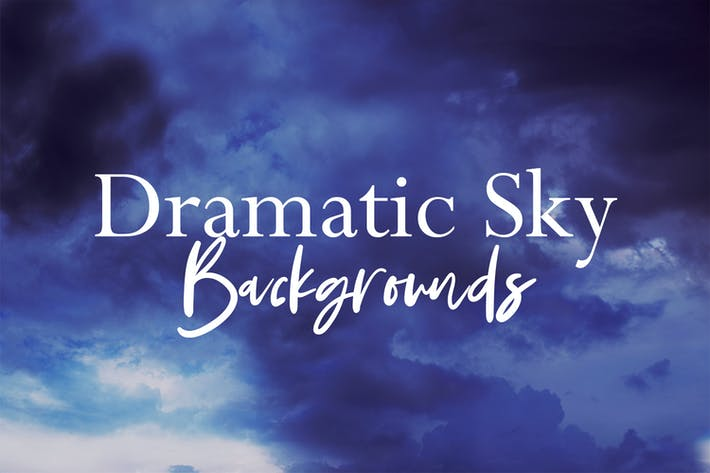 Thumbnail for Dramatic Sky Backgrounds