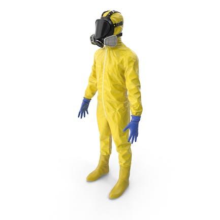 Material peligroso amarillo