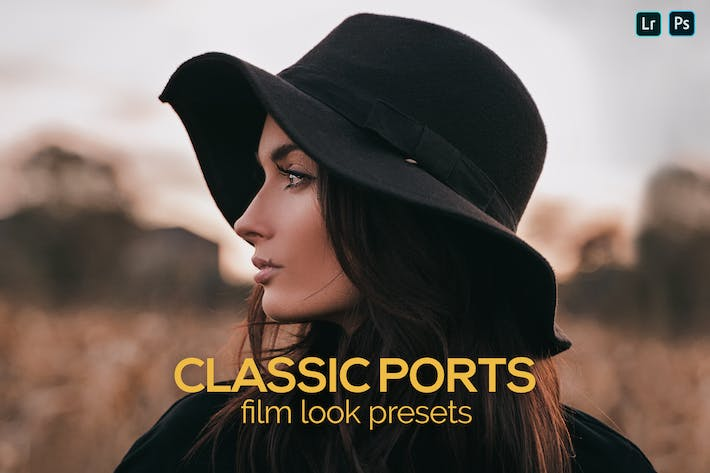 Thumbnail for 8 Classic Ports Film Look Presets