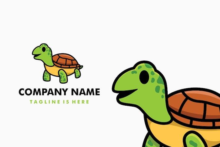 Thumbnail for Cute Tortoise Cartoon Logo