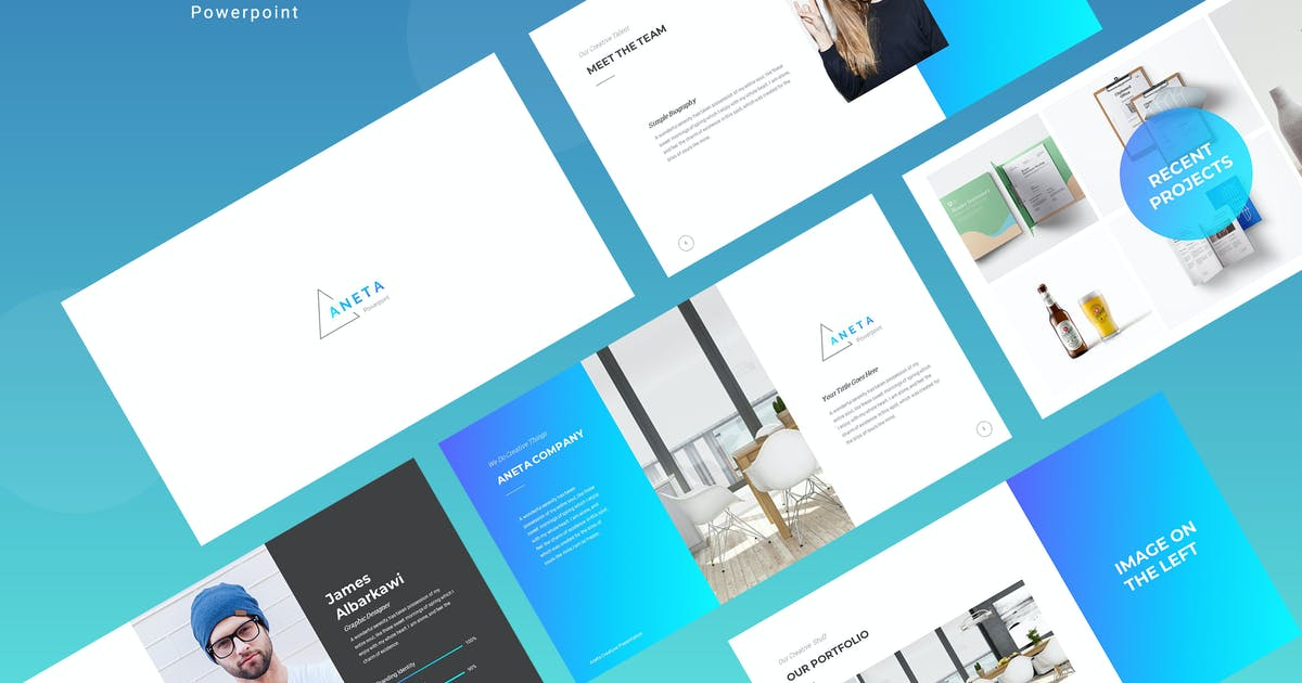 Download Aneta Powerpoint Template by kylyman