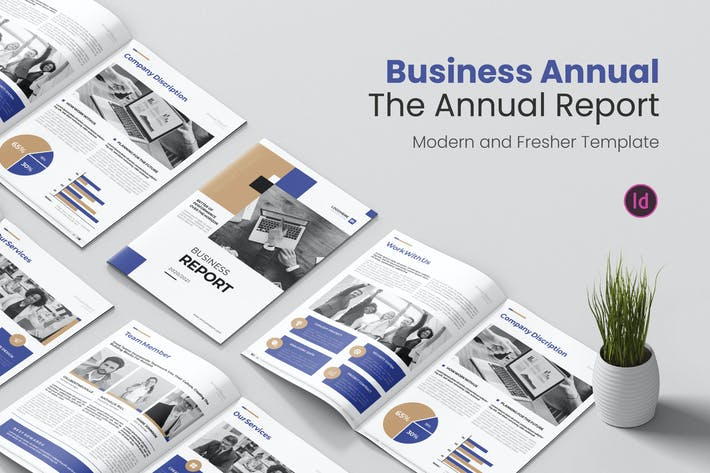 Thumbnail for Business Report Annual Report