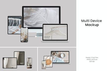 Multi Device Screen Mockup