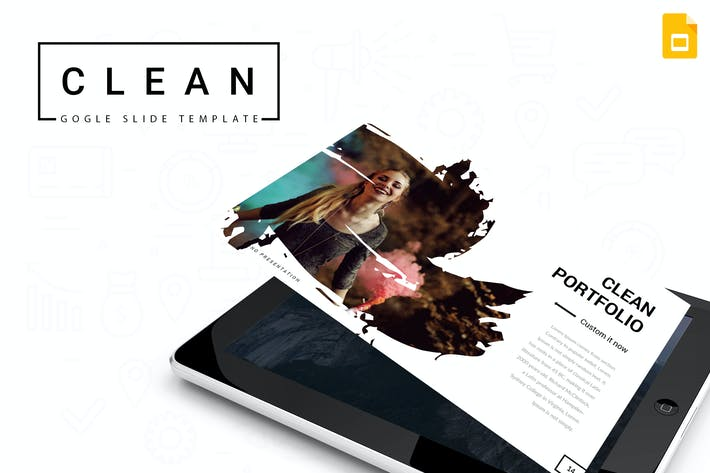 Thumbnail for Clean - Google Slides Template