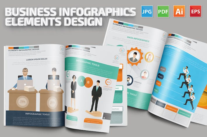 Thumbnail for Business Infographics Design