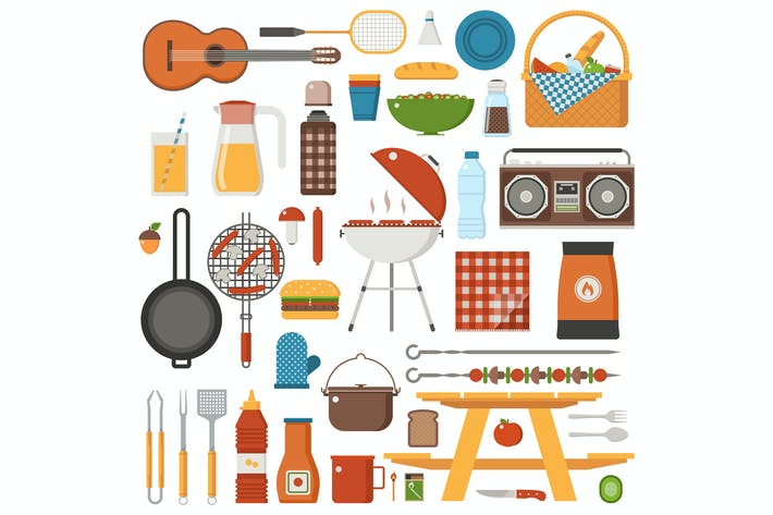 Cover Image For Barbecue and Picnic Set
