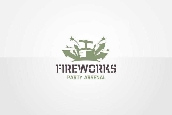 Thumbnail for Plantillas de logotipos de Firework