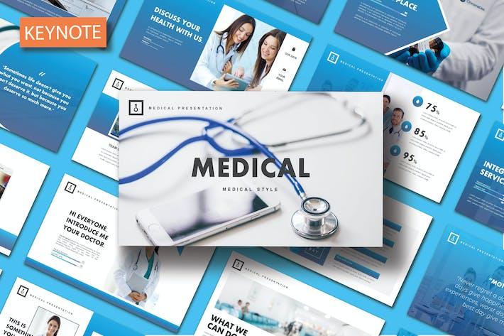 Thumbnail for Медицинский - Шаблон Keynote