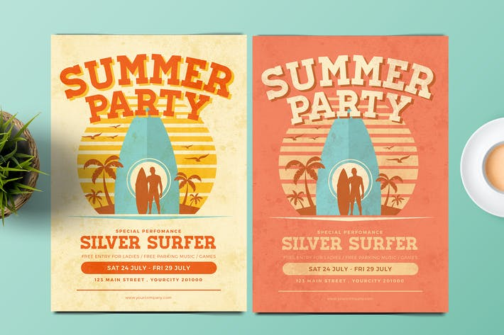 Thumbnail for Summer Surf Flyer