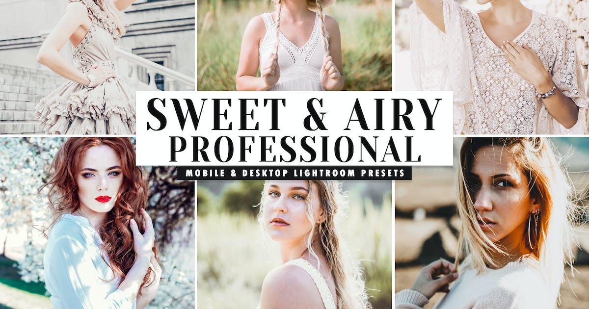 Download Sweet & Airy Mobile & Desktop Lightroom Presets by creativetacos