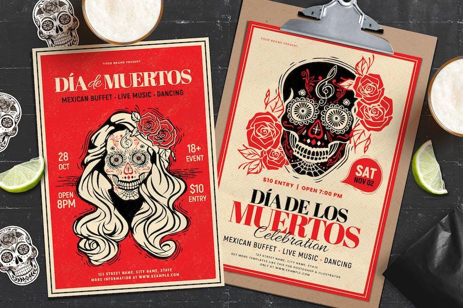 Dia De Los Muertos / Day of the Dead Flyer