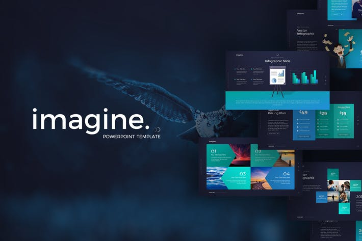 Thumbnail for Imagine PowerPoint Template