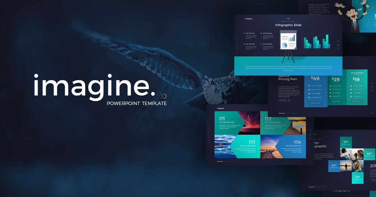 Imagine PowerPoint Template by Unknow