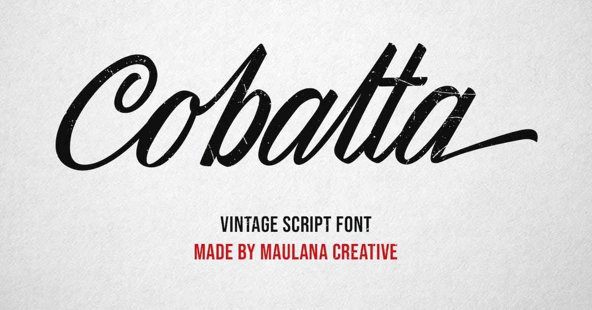 Download Cobalta Vintage Script Font by maulanacreative