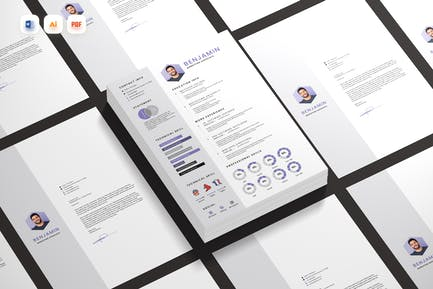 Violet Resume CV Docx