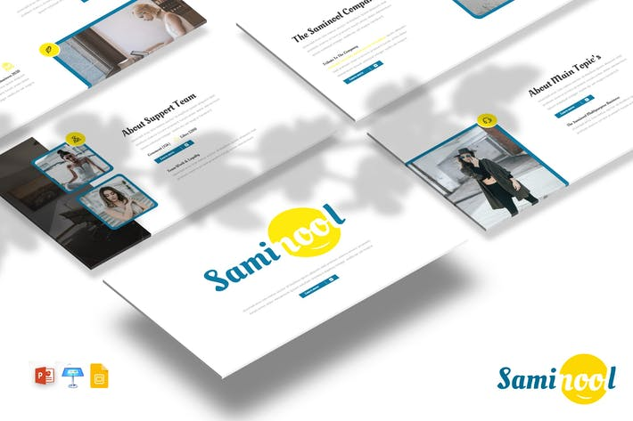 Thumbnail for Saminool - Powerpoint / Google Slides / Keynote