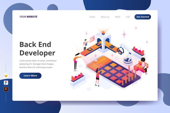 Thumbnail for Back End Developer - Landing Page