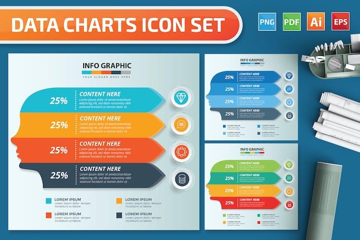 Thumbnail for Head Infographics design