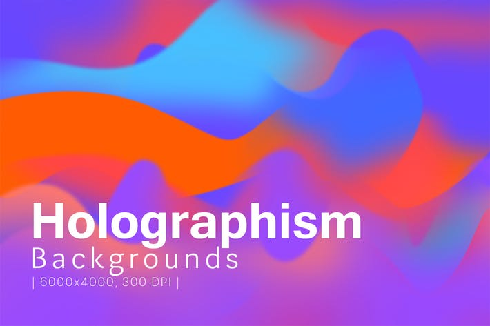Thumbnail for Holographism /// Backgrounds