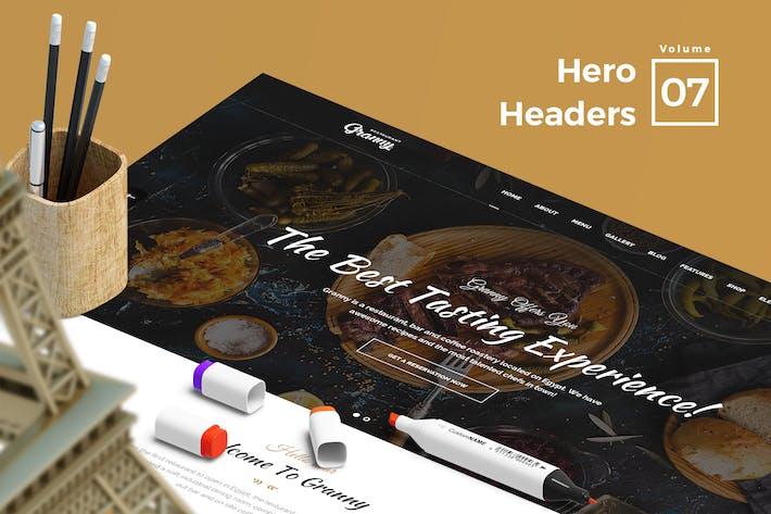 Hero Headers for Web Vol 07