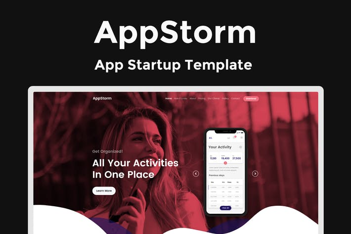 Thumbnail for AppStorm - App Startup Template