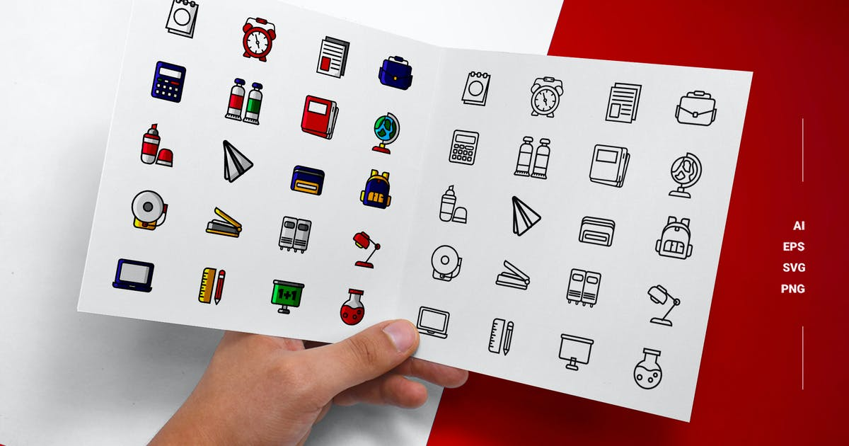 Download Back to School - Icons by esensifiksi