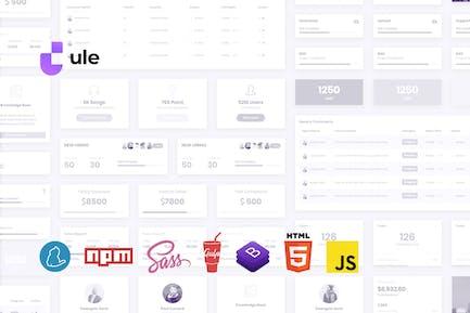 Dashboard-HTML-Vorlage für Bootstrap 4