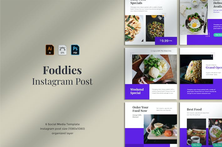 Thumbnail for Fooddies - Instagram post 07