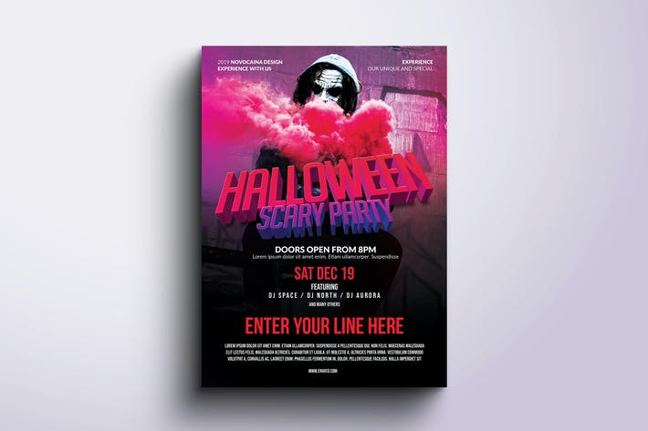 Thumbnail for Halloween Party Poster & Flyer