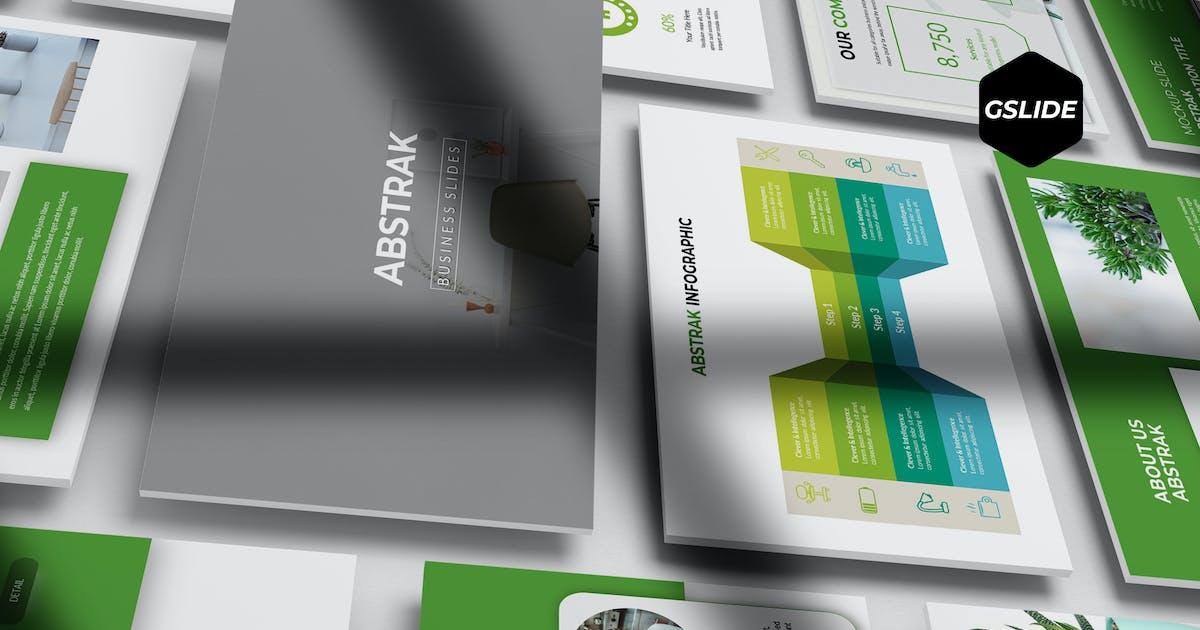 Download Abstrak - Google Slides Template by aqrstudio