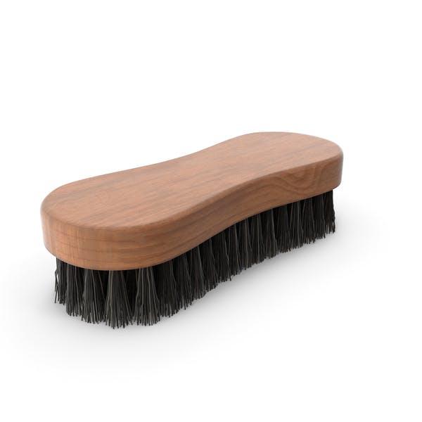 Cepillo de limpieza madera oscura