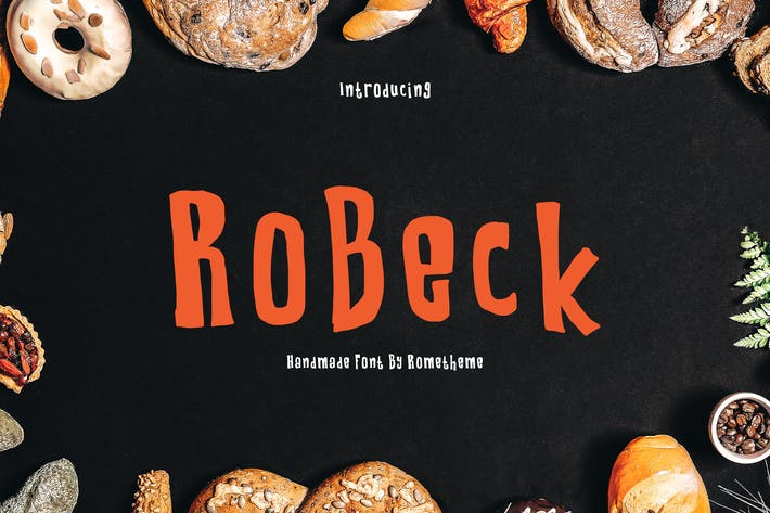 Thumbnail for Robeck Font